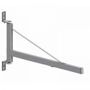 Brazos de aluminio para pared